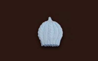 Baby Cabled Hat