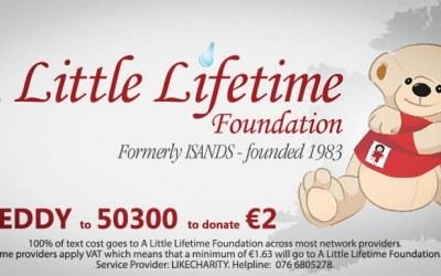 Support ALLF with €2 Text Donations