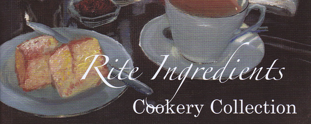 Rite Ingredients Cookery Collection Tasting Evening
