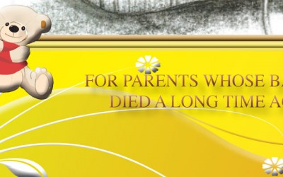 Parents whose baby died a long time ago