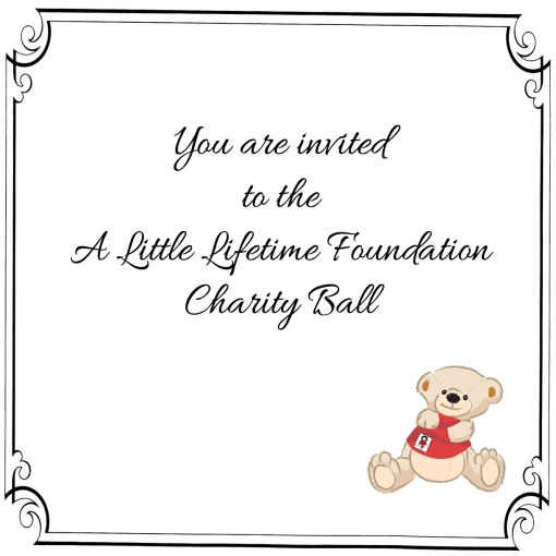 A Litte Lifetime Charity Ball Invitation