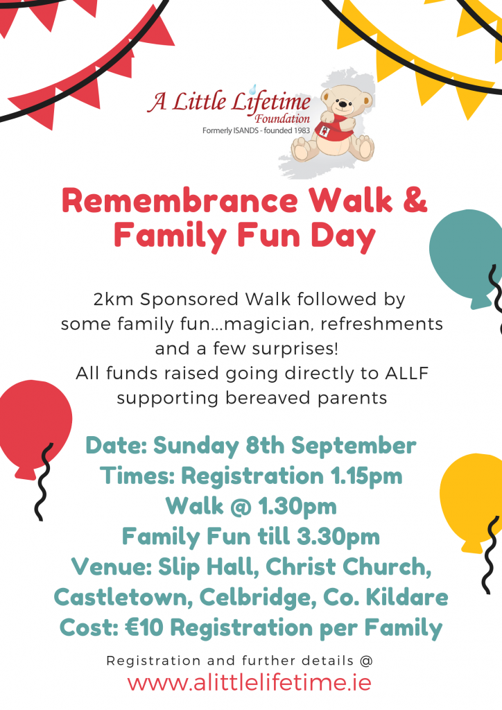 Remembrance Walk & Family Fun Day 2019 Poster