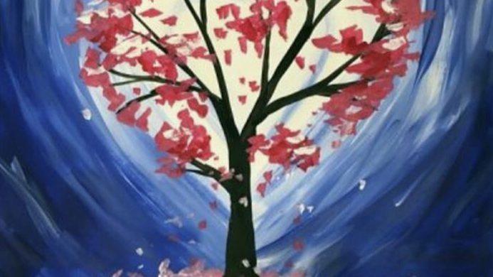 Heart Tree Painting Workshop